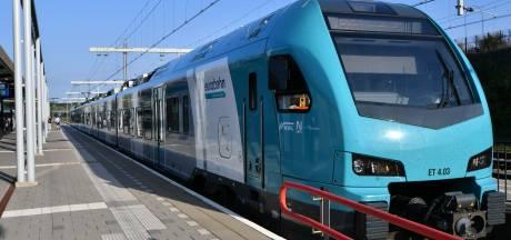 Flirt van Eurobahn was afgelopen week weer eens een 'spooktrein'