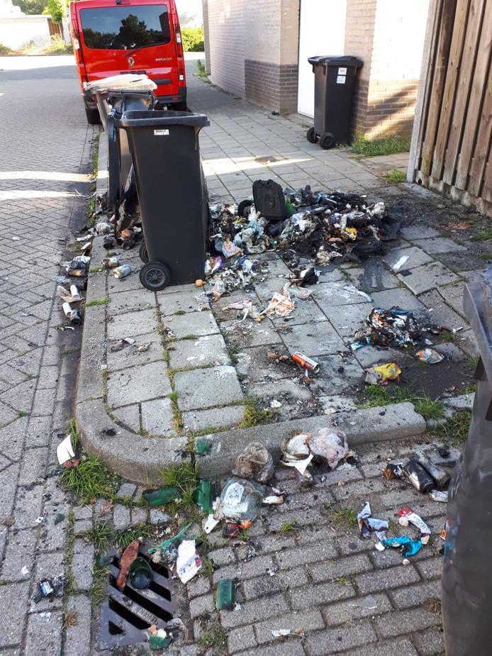 De uitgebrande kliko's in Rijpelberg