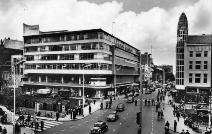 Galeries Modernes in De Planeet in 1950.