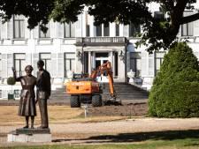 Concerten en droogte nekken koninklijk gras van Paleis Soestdijk