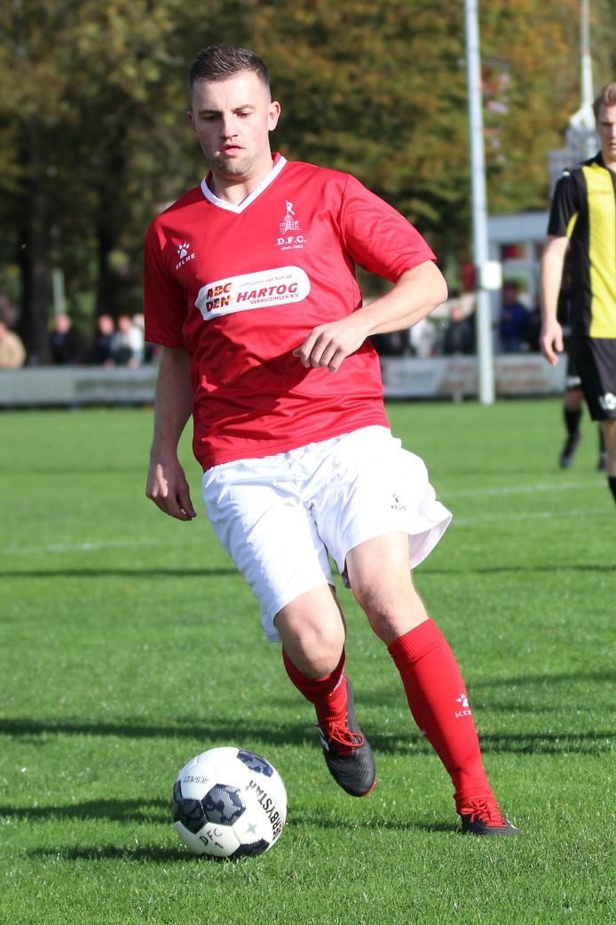 Paul Pluijmert speelde jaren in het eerste elftal van de Dordtse voetbalclub DFC.