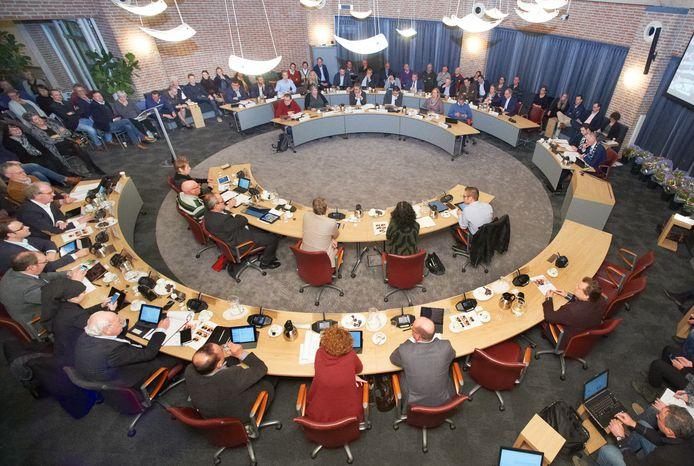 Een volle raadzaal van Meierijstad in Sint-Oedenrode, dat is voorlopig niet meer aan de orde.