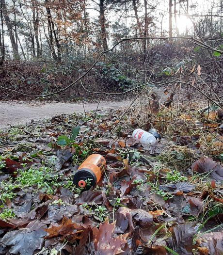 Rijssens nieuwe afvaldump: MTB-route door het bos