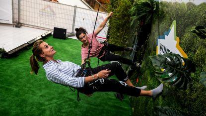 Véronique De Kock maakt kennis met verticale catwalk