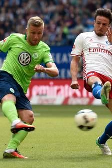 VfL Wolfsburg op trainingskamp in De Lutte als voorbereiding op degradatiekraker