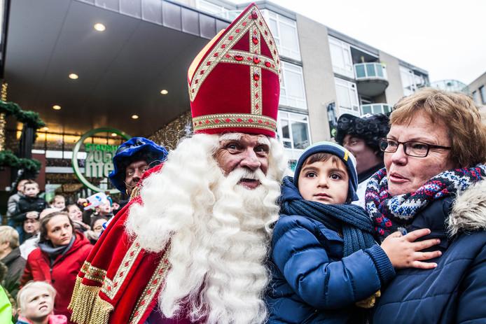 Sinterklaas in Zoetermeer in 2016