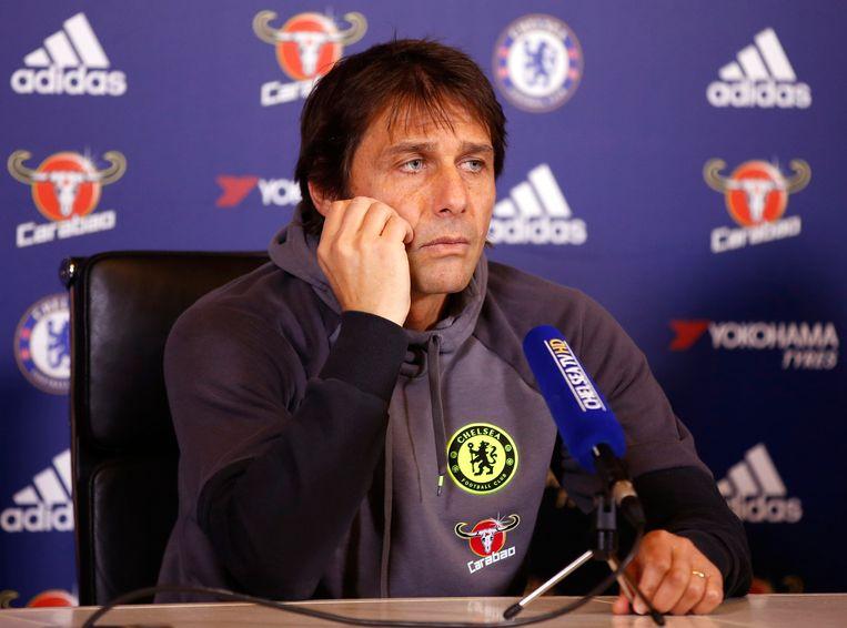 Chelsea-coach Antonio Conte.