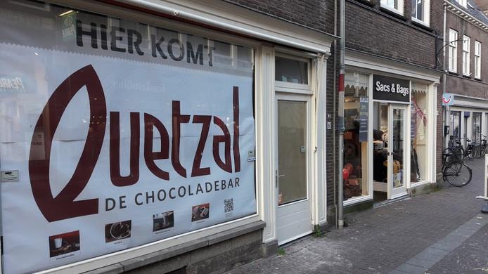 De chocoladebar Quetzal komt eind maart naar Wageningen