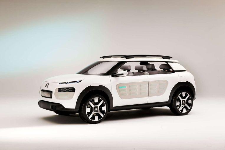 Citroëns C4 Cactus. Beeld null