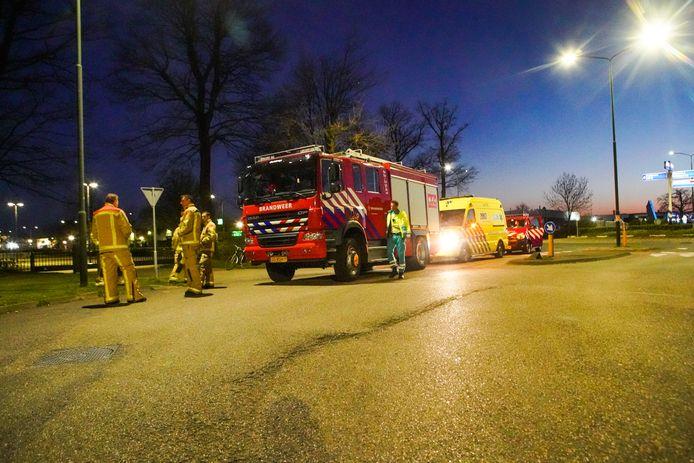 Explosief bij bestelwagen in Geldrop.