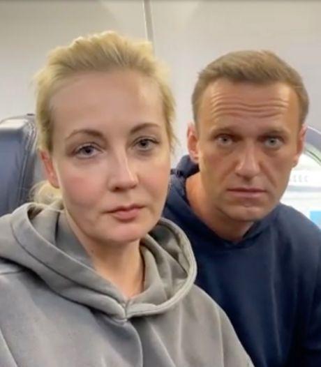 L'épouse de Navalny dit avoir été interpellée à Moscou