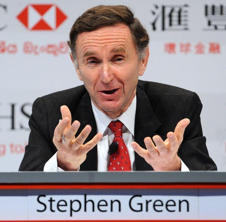 Voormalig HSBC-topman Stephen Green.