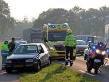 Ongeval op N18 bij Eibergen door uitwijken inhaler