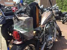 Satudarah rijdt in Middelburg zonder verboden clubkleuren