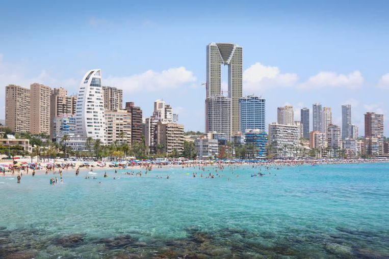 De nieuwe skyline van Benidorm zal er zo gaan uitzien.