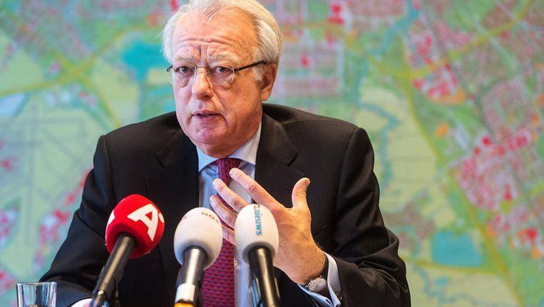 D66 en GroenLinks vragen waarnemend burgemeester Jozias van Aartsen om spoedig duidelijkheid te geven Beeld ANP