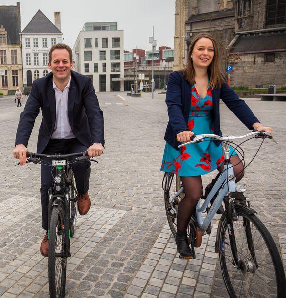 CD&V'ers Robrecht Bothuyne en Laura Polfliet komen met goede scores
