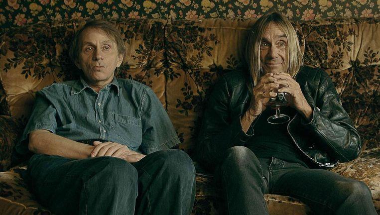 Michel Houellebecq en Iggy Pop in To Stay Alive: A Method. Beeld