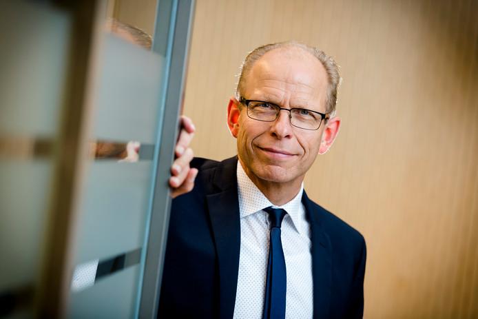 Gerrit van der Burg, topman van het Openbaar Ministerie.