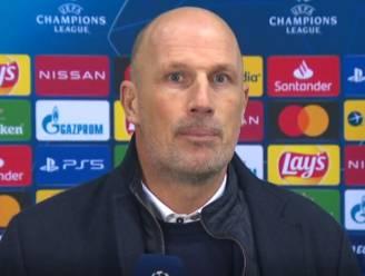 """Philippe Clement tevreden over geleverde spel: """"Was kraken en barsten bij Lazio"""""""