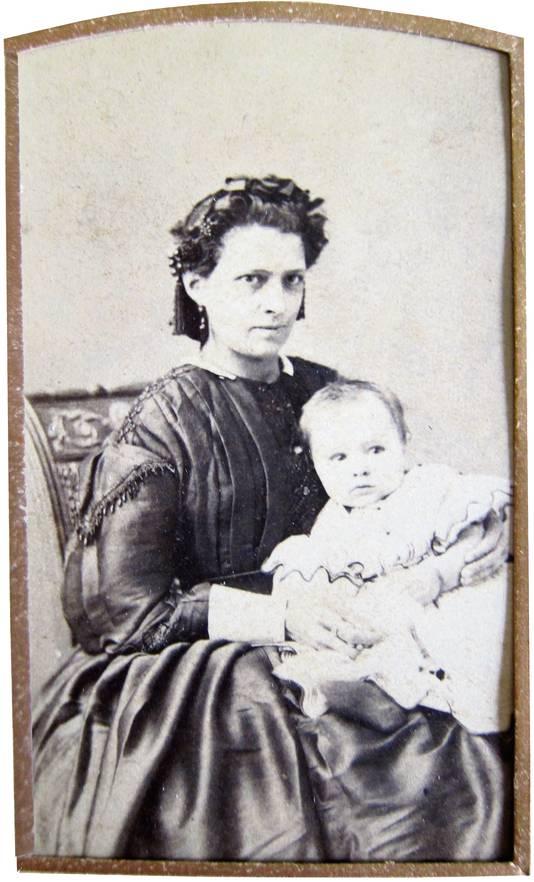 Frederika van Hattum (1840-1906).