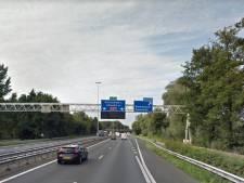 A27 richting Gorinchem gaat in het laatste weekend van de vakantie op slot