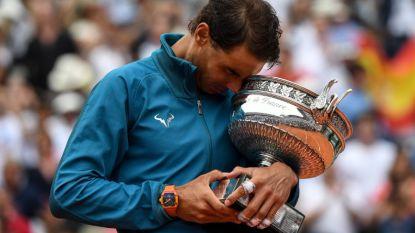 Nadal stoomde met uniek hebbedingetje van ruim 600.000 euro naar elfde Roland Garros-triomf