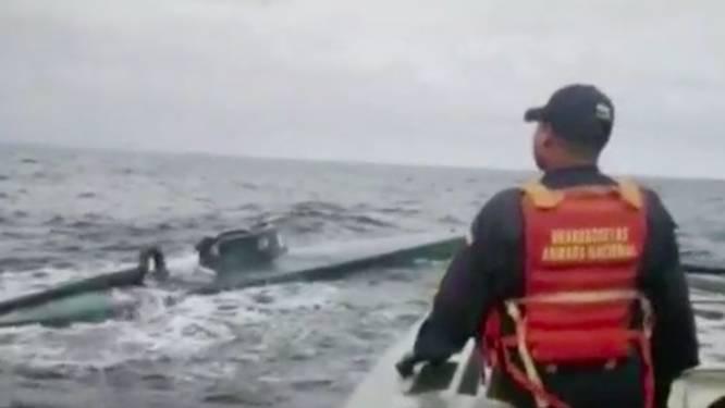 Duikboot met 8.000 kilo cocaïne ontdekt voor kust van Colombia