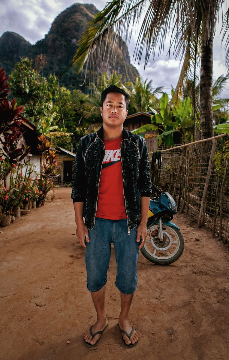 Shai, toeristisch ondernemer in zijn geboortedorp. Beeld