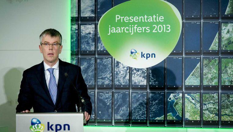 Steven van Schilfgaarde, voormalig financieel topman KPN. Beeld ANP