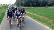 Mountainbiken voor het goede doel op oudejaarsdag