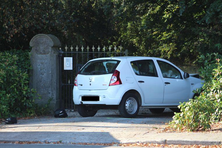 Het ongeval gebeurde langs de Stationsstraat in Loppem