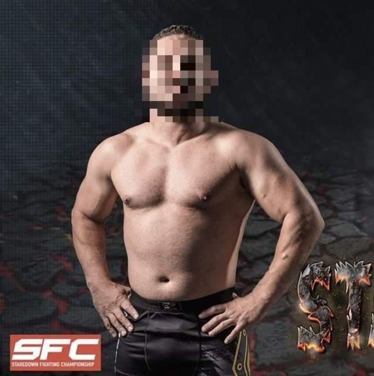 Dader M.B. Is zelf een MMA-vechter.