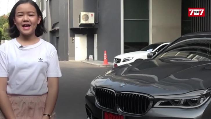 Cette YouTubeuse achète une BMW à l'âge de 12 ans