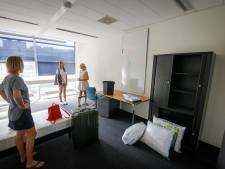 Toekomstig College Campus Meppel vol in de verbouwing, studenten trekken er al in