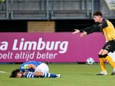 FC Den Bosch mist Mats Deijl tot winterstop door gebroken middenvoetsbeentje