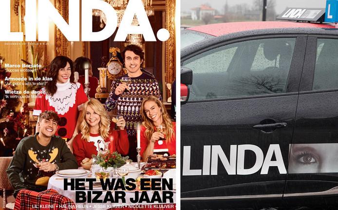 LINDA. vindt dat de LINDA van Linda te veel op hun logo lijkt.