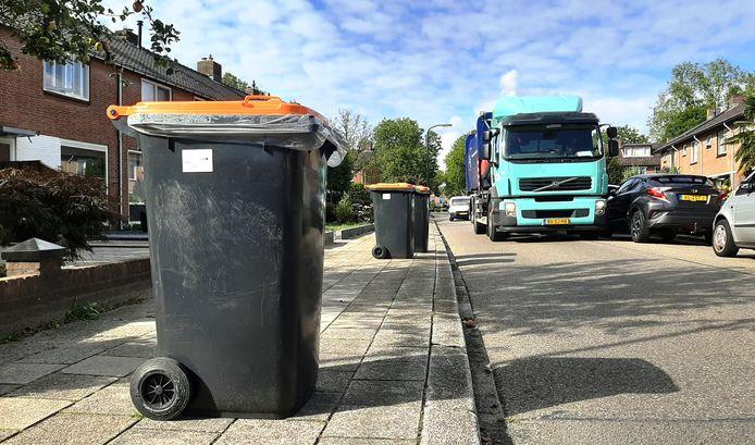 Vervuiling van de oranje container leidt in Haaksbergen tot hoge stortkosten in plaats van inkomsten.