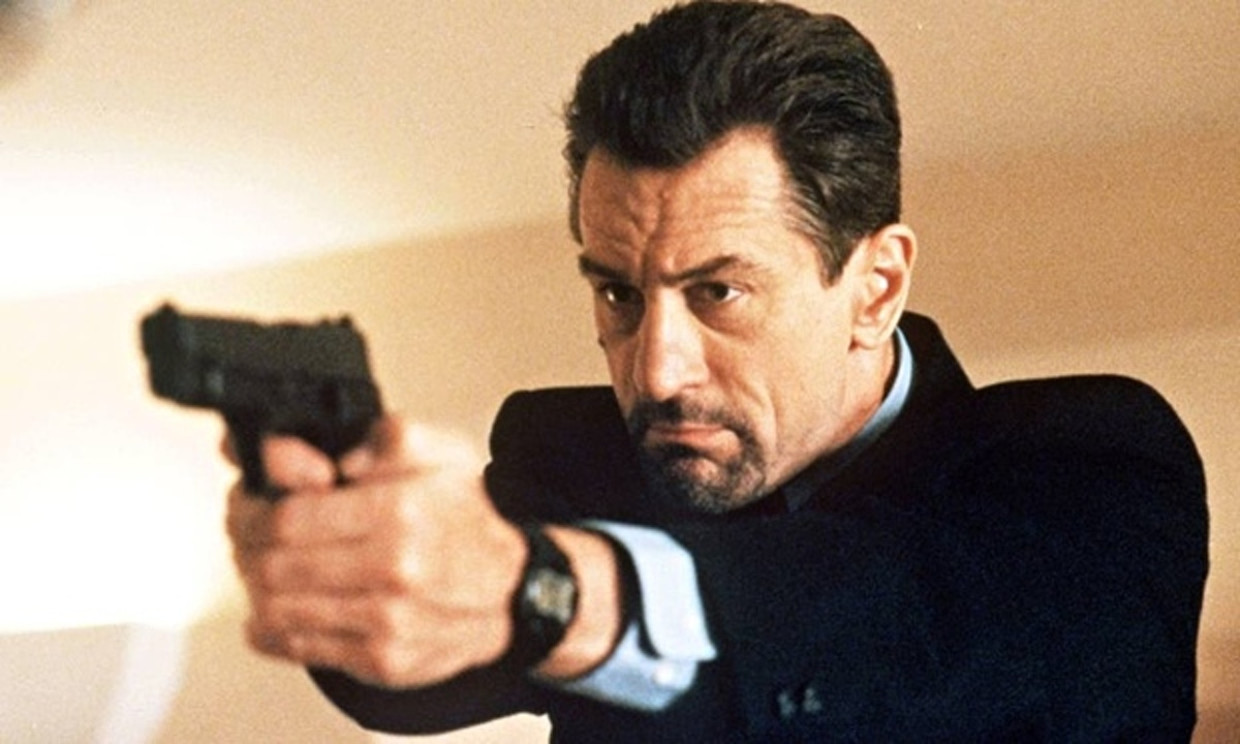 Robert De Niro als Meil McCauley in Heat.