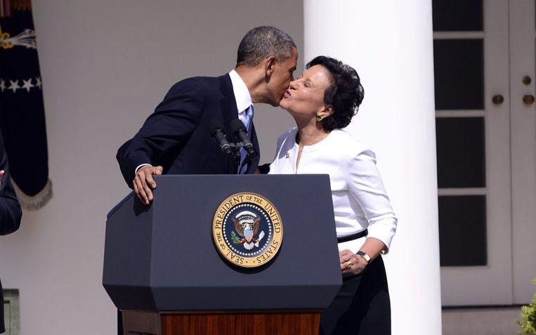 Penny Pritzker, de zus van 'J.B.', was in de regering van Obama een tijdje minister van Handel.