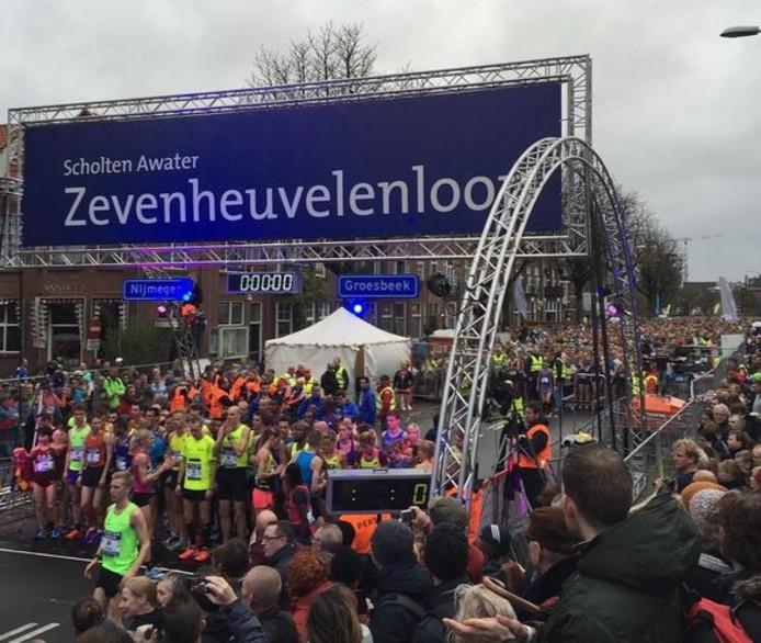Start van Zevenheuvelenloop 2015.