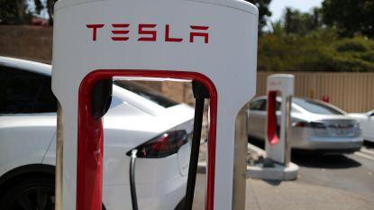 Spektakel rond Tesla op Wall Street