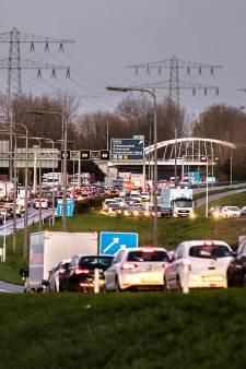 Lucht in de regio al een klein beetje schoner bij gebrek aan verkeer