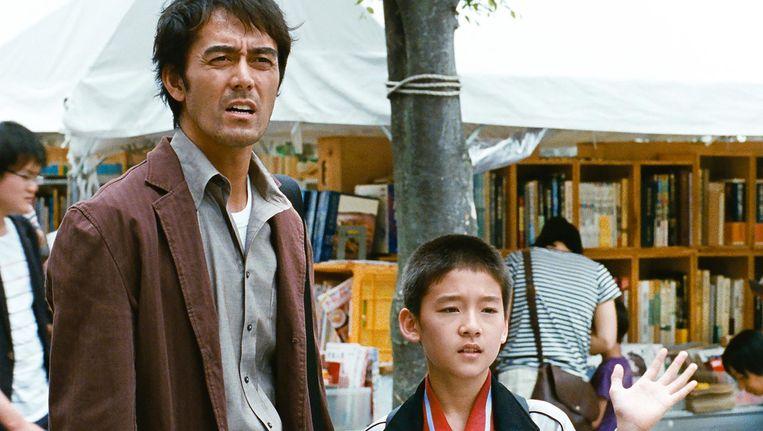 Hiroshi Abe als Ryota (l) is de spil van de film Beeld -