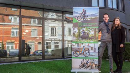 """Kortrijk krijgt eerste speciaalzaak met enkel elektrische tweewielers: """"We geloven in deze fietsstad"""""""