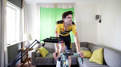"""Na Sagan ook Dumoulin en Ewan niet enthousiast over virtuele koersen: """"Resultaten zeggen niets"""""""