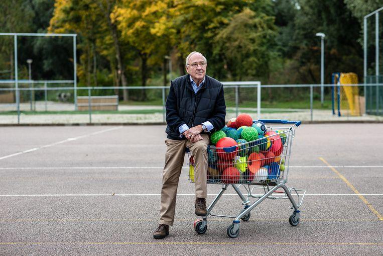 Rob van der Vecht:  'Ik heb me er inmiddels bij neergelegd dat ik 105 jaar oud word en tot die tijd in functie blijf.' Beeld Nosh Neneh