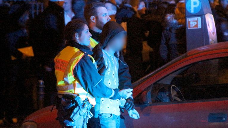 Momenteel zitten nog vijf van de twaalf opgepakte mannen vast Beeld anp