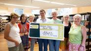 Opbrengst boekenverkoop bib brengt 1.841 euro op voor goed doel