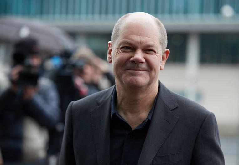 Olaf Scholz wordt de nieuwe minister van Financiën.